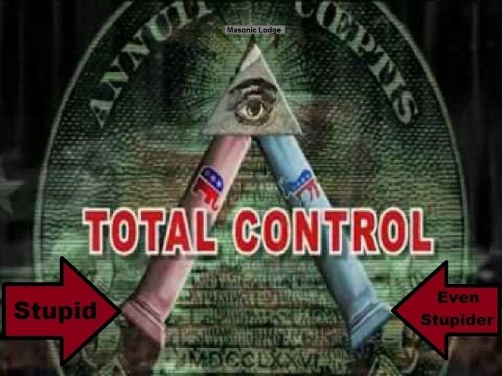 Masonic GOP x Dem dichotomy