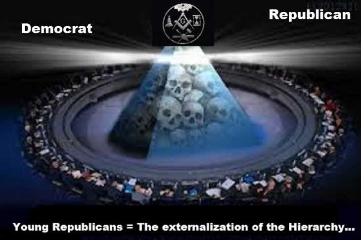New American Century Masons Young Republicans and Democrat