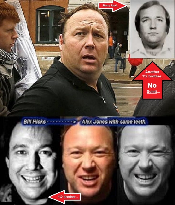 Alex Jones Bill Hicks half brother Barry Seal