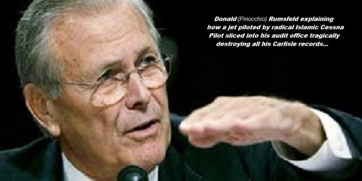Pinocchio Rumsfeld