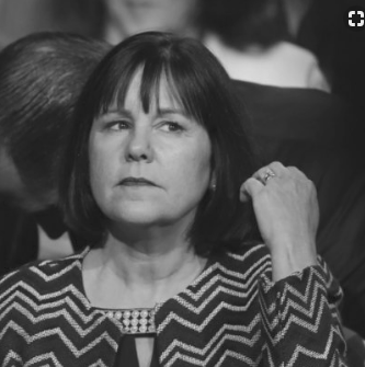 Pence's wife BW