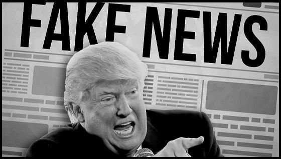 Trump fake news BW 560