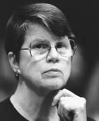 Younger Janet Reno head