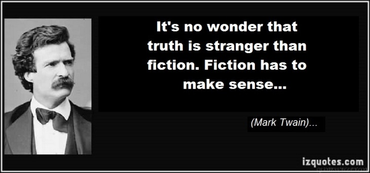 Mark Twain fiction truth
