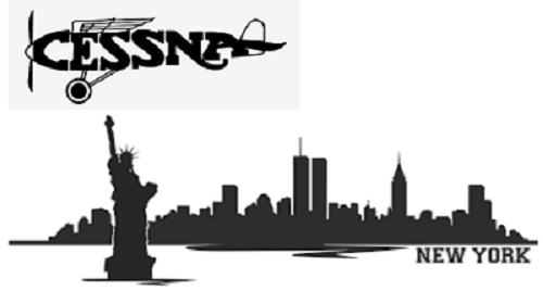 New York Cessna Pilot borderless 500