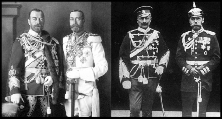 Kaiser King und Czar (2)