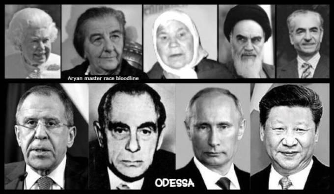 queen-golda-meir-russian-lady-ayatollah-shah-aryan-odessa-kutschmann-putin-jinping-lavrov