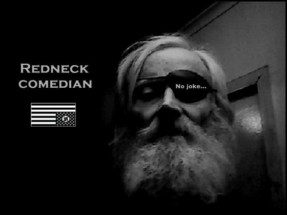 Redneck Comedian Nazi flag 560