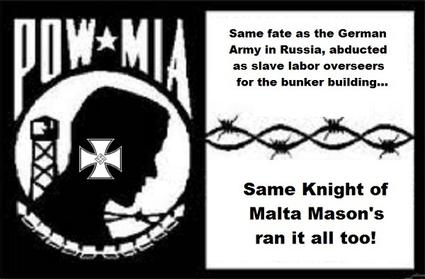MIA POW Knight of Malta