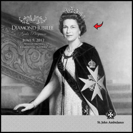 Queen Knight of Malta RED ARROW BW 560
